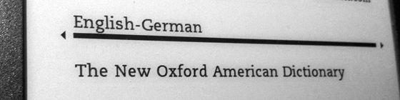 Englisch-Deutsch-Wörterbuch