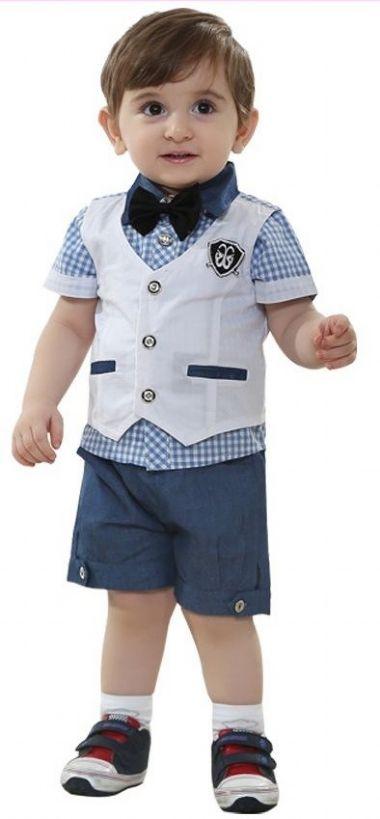 Conjunto Carters 4 Peças Navy Blue baby Boy Summer