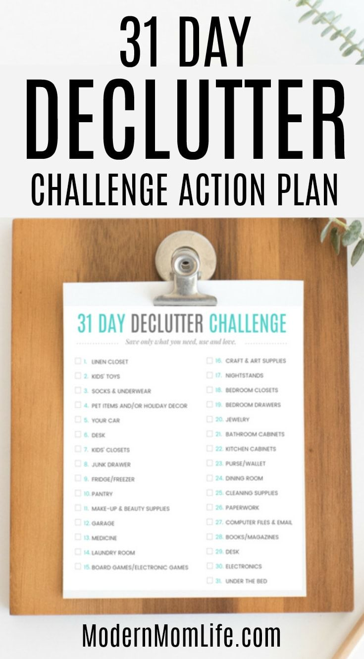8067 best free printables images on pinterest free for Declutter house plan