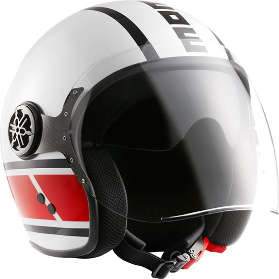 Le casque jet Momo Design Speedblock Yamaha X-Max édition /// Momo Design Speedblock Yamaha X-Max Limited Edition