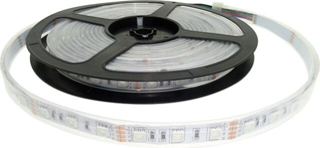 Iti doresti un sistem de iluminat modern si rezistent la apa?  BANDA LED 60x5050 RGB 14.4W IP68 este raspunsul! Fabricata cu grad de protectie superior, banda LED RGB IP68 asigura un iluminat modern prin conectarea la un controler. Pret lei per metru