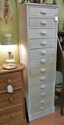 Reproduction of a Great Chest with 12 Drawers