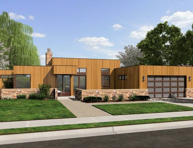 63 best modern house plans images on pinterest | architecture