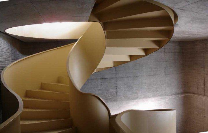 Schody spiralne - PinHouse - Inspiracje wnętrza domy pokoje design -