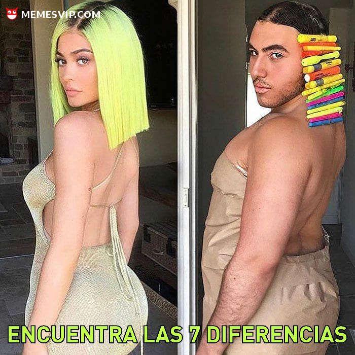 Encuentra las siete diferencias - Find the seven differences  #chistes #meme #memes #momos #español #memesvip #memesvipcom #chiste #corto #humor #2018 #madrid #barcelona #california #losangeles #LA #mexico #argentina #chicago #sevilla #valencia #newyork #NYC #venezuela #colombia #houston #trending #sexy #girl #atractiva #guapa #chicas