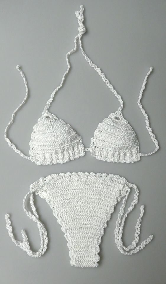 check it outhttps://www.facebook.com/pages/Greenlight-Crochet-Knitting/436672159764770?sk=photos_stream  Daydream crochet swimsuit. $49.99 (limited offer) 100% cotton yarn