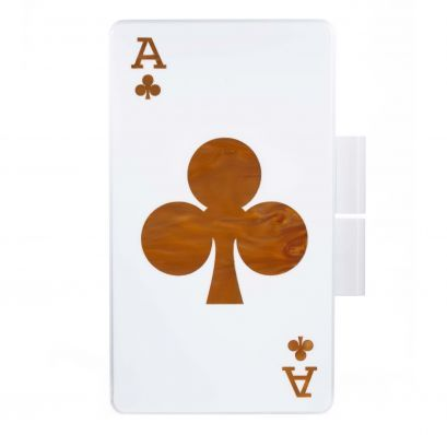 Shop Urania Gazelli King of Clubs Clutch - AM21 luxury store
