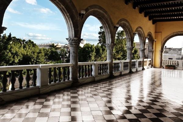Architectural detail: Balcony in Merida