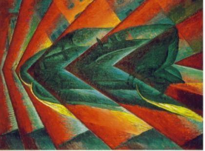 Los movimientos artísticos vanguardistas comenzaron bruscamente en 1909 , a partir del Futurismo italiano . El movimiento futurista tuvo una amplia repercusión y proyección en toda Europa (excepto en Inglaterra), incluso se incorporó a Rusia, y en América latina también donde entrará mucha fuerza. Ademas el futurismo nace como una aspiración a la modernidad.