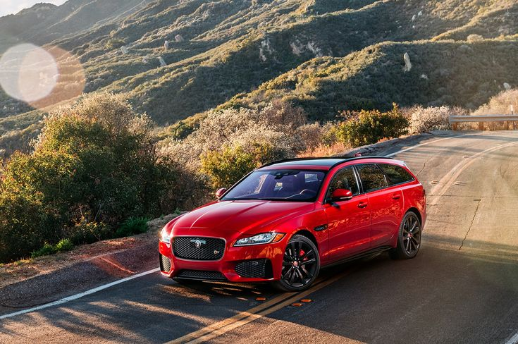 Jaguar XF estate...(station wagon)...because SUV's and CUV's are Ubiquitous...and...BORING!!!