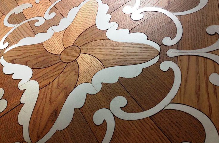 The organic combination of #metallic #elements and #wood species in #Tavolini #Floors #modular #parquet Kanzone #artisticparquet #chevron #design #designinterior #floor #flooring #floors #hardwood #florboards #intarsia #interior #lehofloors #luxparquet #module #modularparquet #parquet #studioparquet #tavolini #tavolinifloors #tavolinifloorscom #tavoliniwood #termowood #wood #woodcarpets #woodenfloors