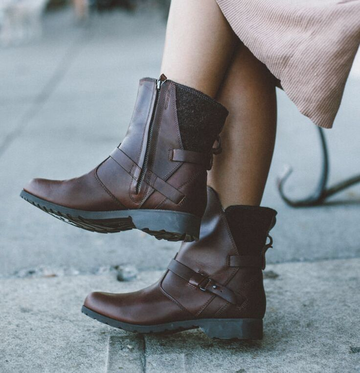 Warm wool and polished leather- you don't have to pick just one. Pair the Teva De La Vina Low Wool Boot with a maxi-dress or jeans, and you're ready for anything that might come your way on a Sunday. Shop now:www.teva.com/...