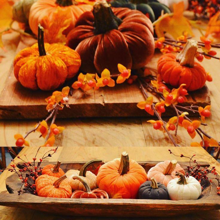 "18 Likes, 4 Comments - Terri Larson (@plum_street) on Instagram: ""Fabric pumpkins headed for @primfolkfest in Des Moines."""