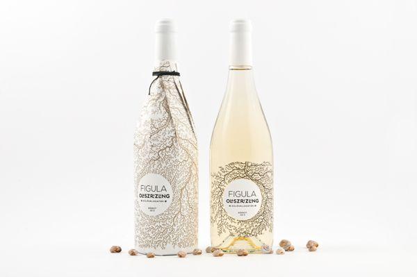 Figula Olaszrizling 2013  Wine Label Design by Peltan-Brosz Roland, via Behance