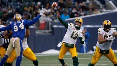 Unstoppable offence vaults Eskimos past Bombers into Western final