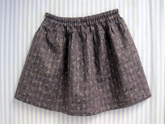 marapytta costura Escola: DIY - saia de menina Fácil