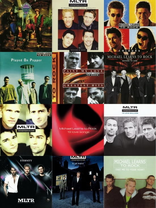 Seven studio albums and five greatest hits in this collage. Our latest studio album Scandinavia is missing here.