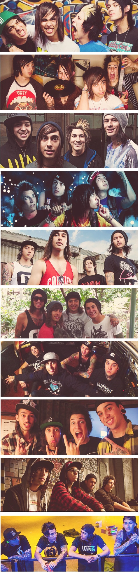 pierce the veil Hands down my favorite band #sexicans