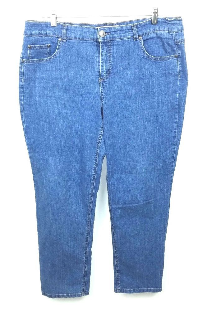 1c4b9d19dc3ee Just My Size JMS Women s 18W Average Jeans Stretch Classic Medium Blue Denim   JustMySize
