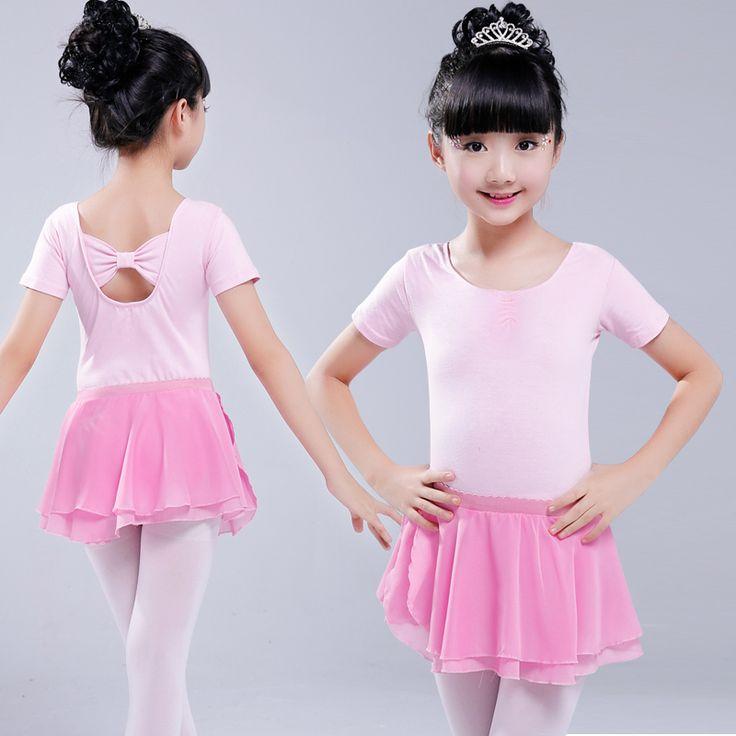 Children ballet dance skirt Girl Ballet Skirt Pure Cotton Level tutu skirt Serve Artistic Gymnastics leotards short bodysuit #Affiliate