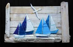 Galleri Bo webshop  Driftwood and fused glass