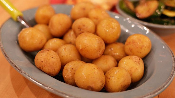 Sunny Anderson's 2-Ingredient Potatoes Recipe