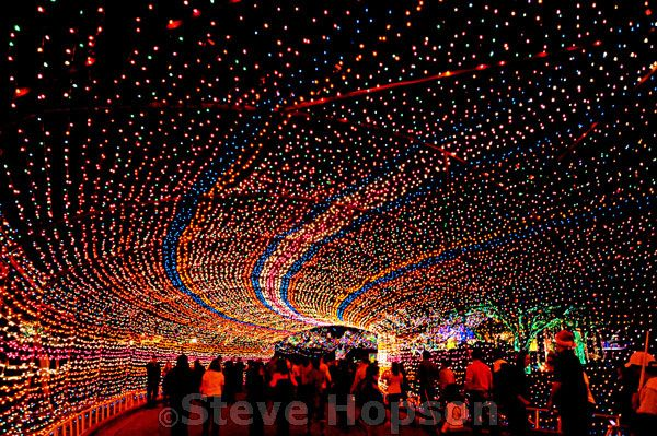 Trail of Lights, Austin Texas    Austin's annual Trail of Lights in Zilker Park, Austin Texas, December 19, 2008. Named one of the Top Ten Holiday Lightings by USA Today, the Trail of Lights Festival has been held annually since 1965.