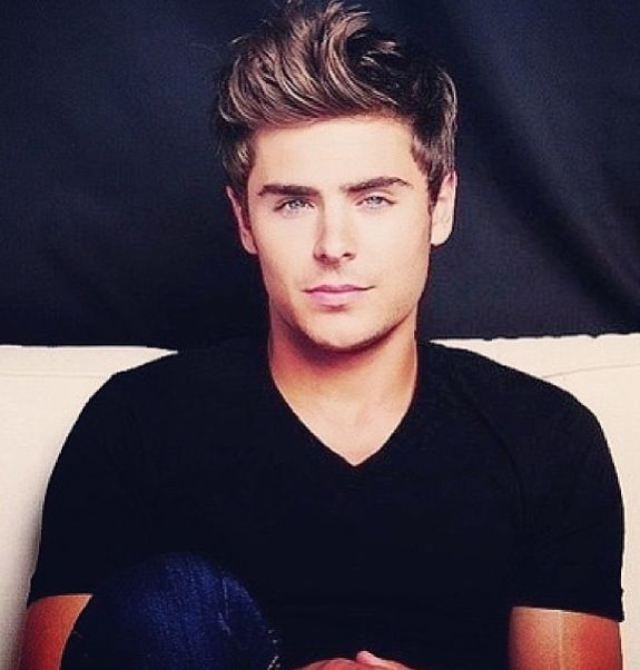 Zac Efron. That hair! Hahah