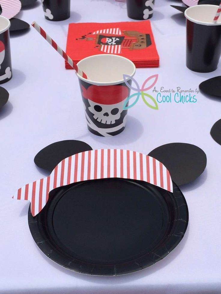Pirate Mickey Mouse Birthday Party Ideas | Photo 1 of 34