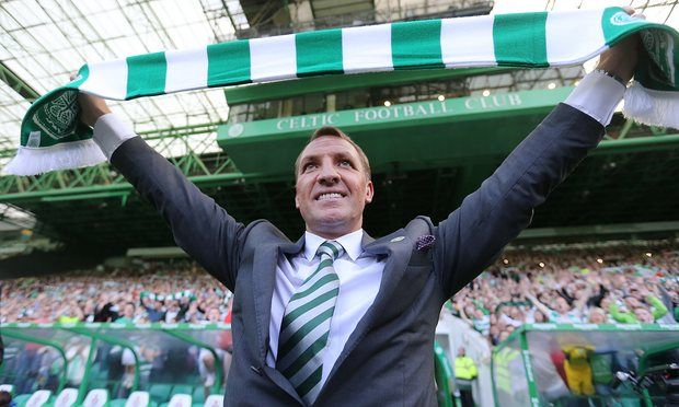 May 24 2016 - Brendan Rodgers is officially appointed as the new manager of Glasgow Celtic