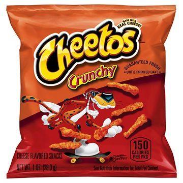 Cheetos Crunchy Snacks 1 oz