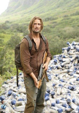 Josh Holloway from LOST! His character seriously makes me laugh hahahahahahaha! But he can also be really serious...sometimes haha(: He is such a good actor and funny!!