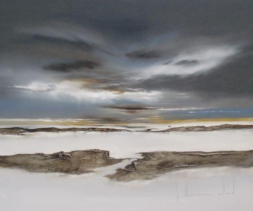 Taking it to the Edge by Katherine Wood | Abstract Art Artwork | Fine Art Portfolio
