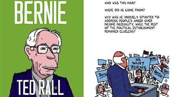 Graphic novel of the week: The comic case for Bernie http://ift.tt/227Ueto  April could be make-or-break month for Bernie Sanders.  The Vermont Senator lags behind Hillary Clinton in the total delegate count but hes also riding momentum from lopsided caucus victories in the West. By the end of the month primaries in Wisconsin New York Pennsylvania and Connecticut among others should give us a sense of whether Sanders can reach the 2383 delegates he needs for the nomination.  So theres never…