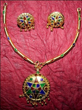 Indian Assamese Jewellery Japi by RamdhenuEmporium on Etsy, $71.00