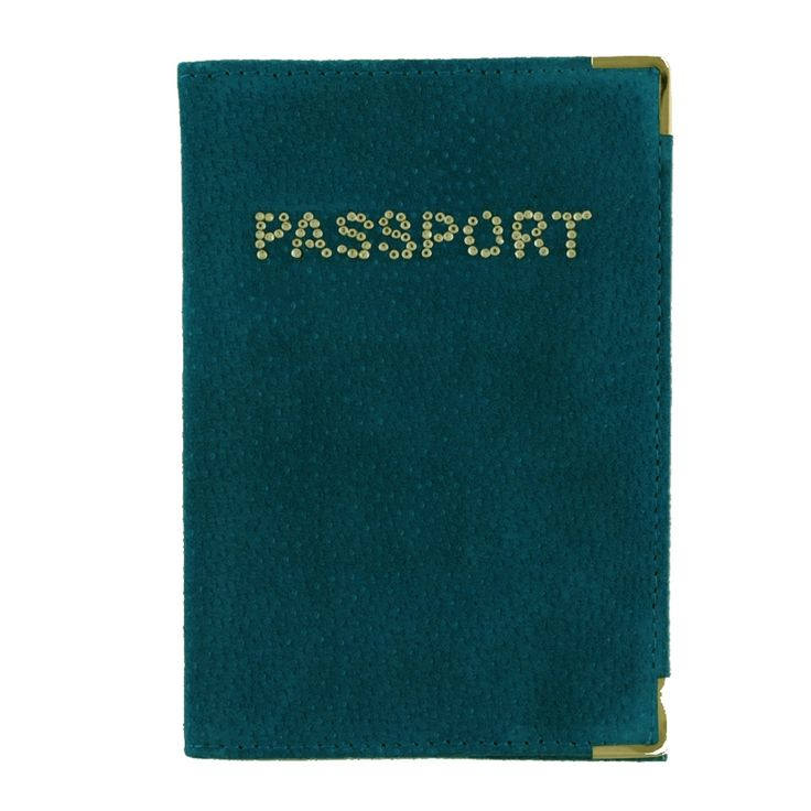 MC Leather Passport Cover: Suede Ocean Blue Now $8.00 #passportholder #passportcover