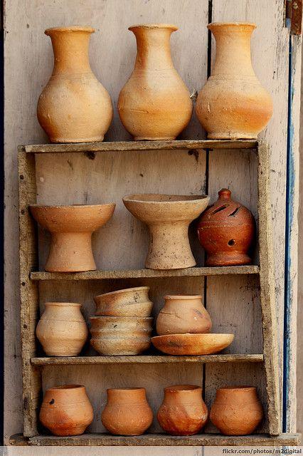 Clay Pots // Great Gardens & Ideas