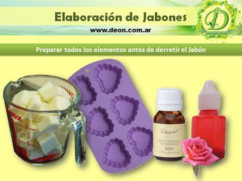 ¡Jabones artesanales con Aceites Esenciales!