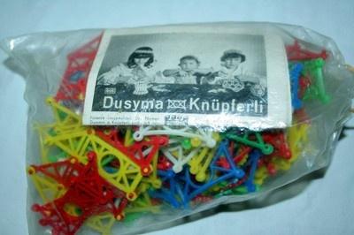 Dusyma Knüpferli Stecksystem 50er 60er Jahre Spielzeug