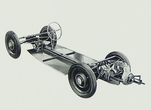 Chassis of the Hansa 500