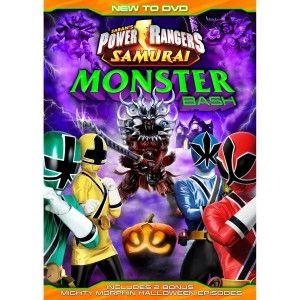 Power Rangers DVD: Monster Bash