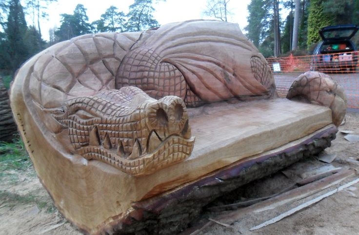 Chainsaw Carved Dragons | 2012 Andy O'Neill wildwoodcarving.co.uk | web site design by ...