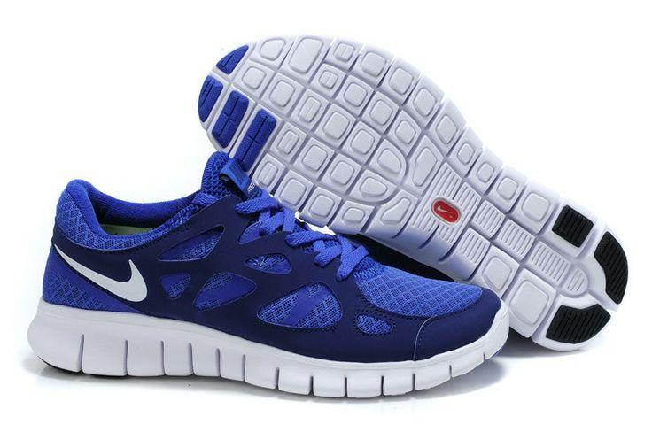 Nike Free Run 2,0 Damen & Herren Schuhe Sale Blau