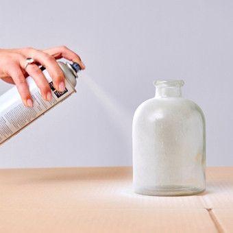 Lege flessen pimpen - spuit ze in de kleur die jij leuk vindt