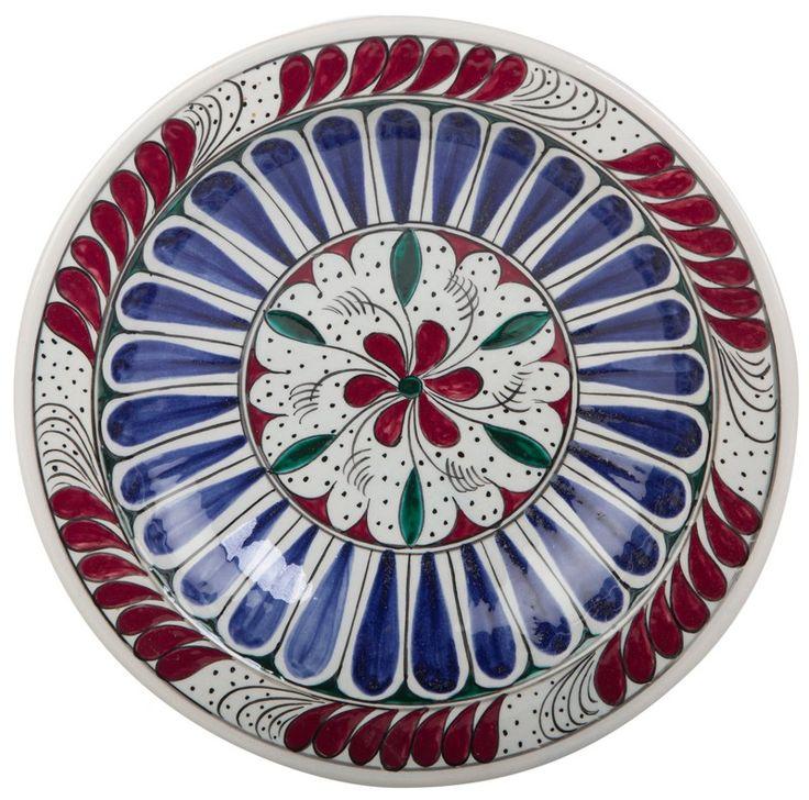 Early Ottoman Period Iznik Ceramic Plate
