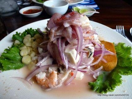 [페루/리마] 페루에 가면 꼭 먹어야할 음식_ 세비체[Ceviches]