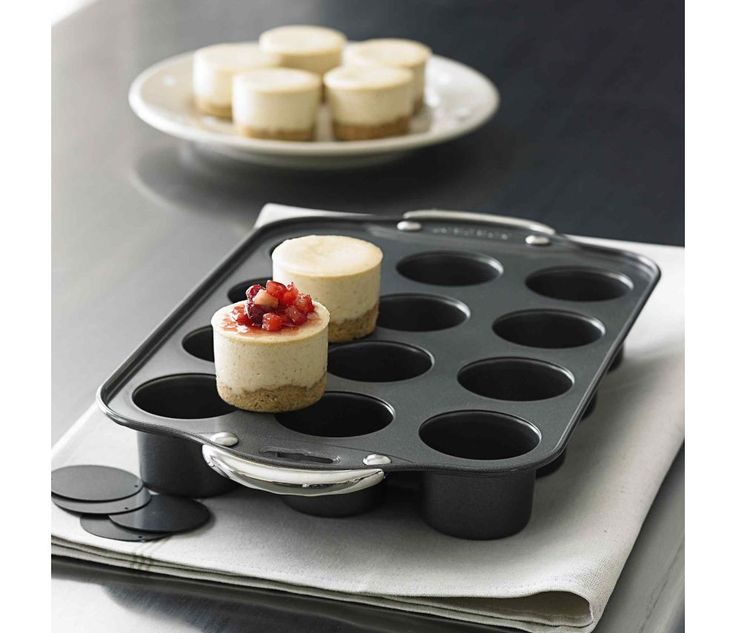 Mini Cheesecake Pan-- this is now on my christmas list!