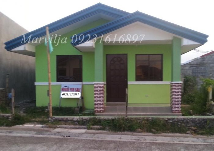 Cheap house lot sale philippines affordable rfo house for Affordable house design philippines