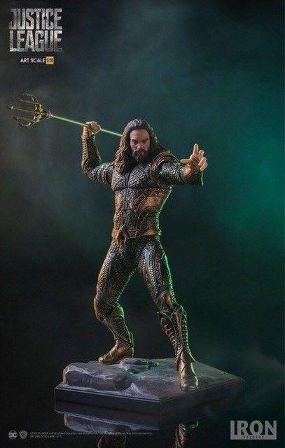 Iron DC Justice League Aquaman Statue Action PVC Collectible Figure Toys  23cm 1   DC 1319dcfe318b