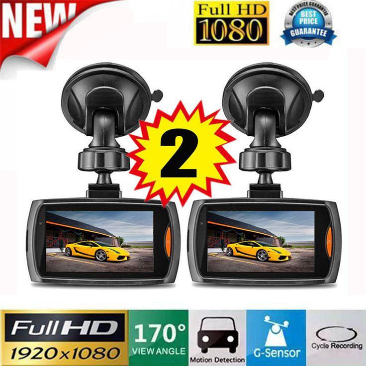 "2x Car 1080P 2.2"" Full HD DVR Vehicle Camera Dash Cam Video Recorder G-sensor Night Vision //Price: $US $23.76 & FREE Shipping //     #hashtag2"
